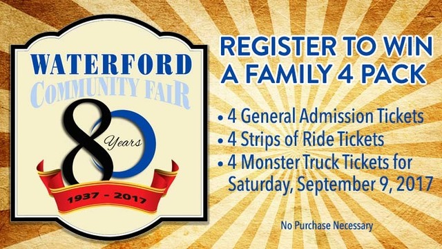 Waterford Community Fair Giveaway 2017