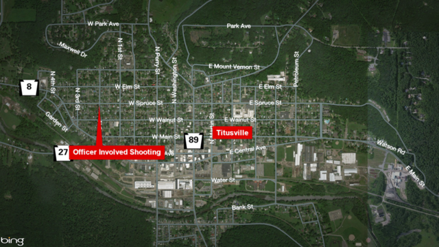 Officer Involved Shooting In Titusville