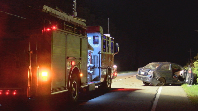 Early Morning Rollover Accident