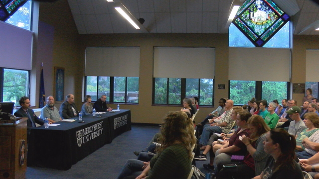 Local Journalists and Professors Talk Free Speech and Ethics at Mercyhurst University Panel