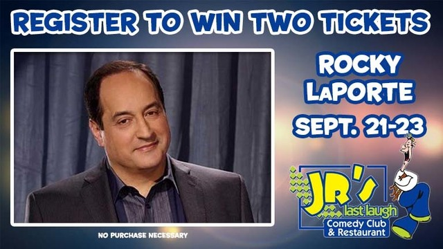 JR's Last Laugh – Rocky LaPorte Giveaway