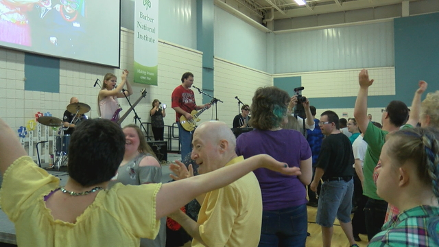Musicians break barriers at the Barber National Institute
