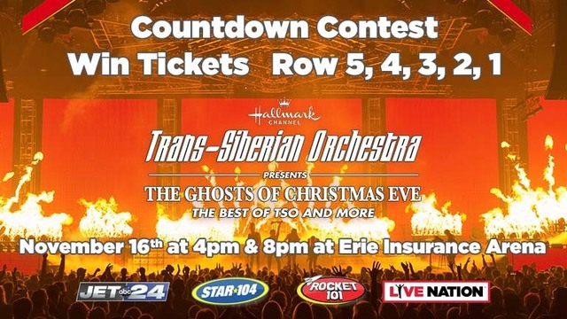 Trans-Siberian Orchestra Ticket Giveaway