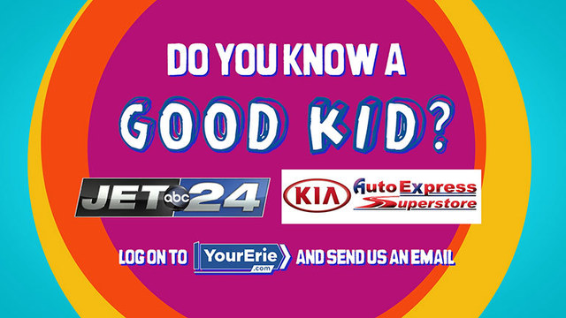 Do you know a good kid?  Nominate them for our Good Kids Award!