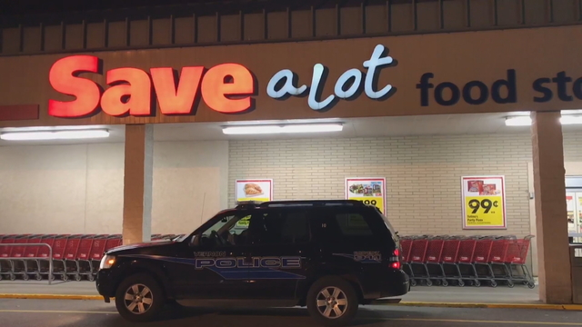Alleged Holdup at Save A Lot in Meadville