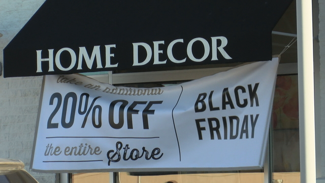 Black Friday on Thanksgiving in New Hampshire