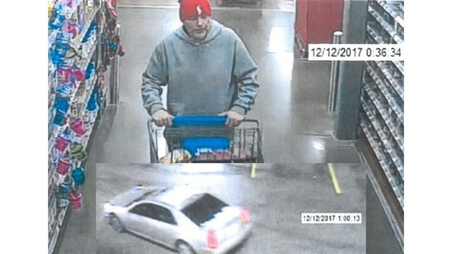 Police need your help identifying suspect in Walmart theft