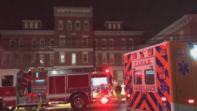 Second Story Fire in Bartlett Gardens Forces Evacuation, No injuries