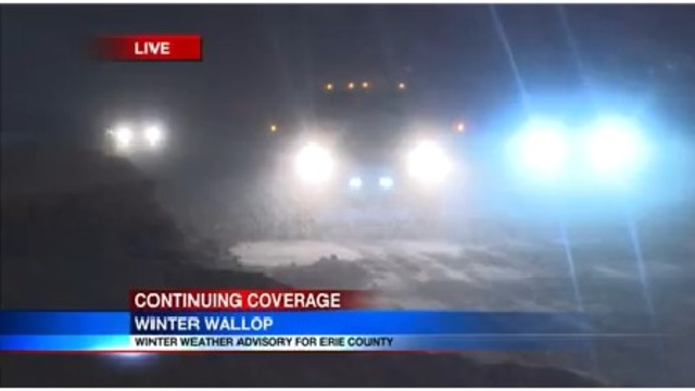 City of Erie & Millcreek Township declare snow emergency