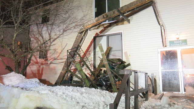 Deck Collapses Due to Heavy Snow