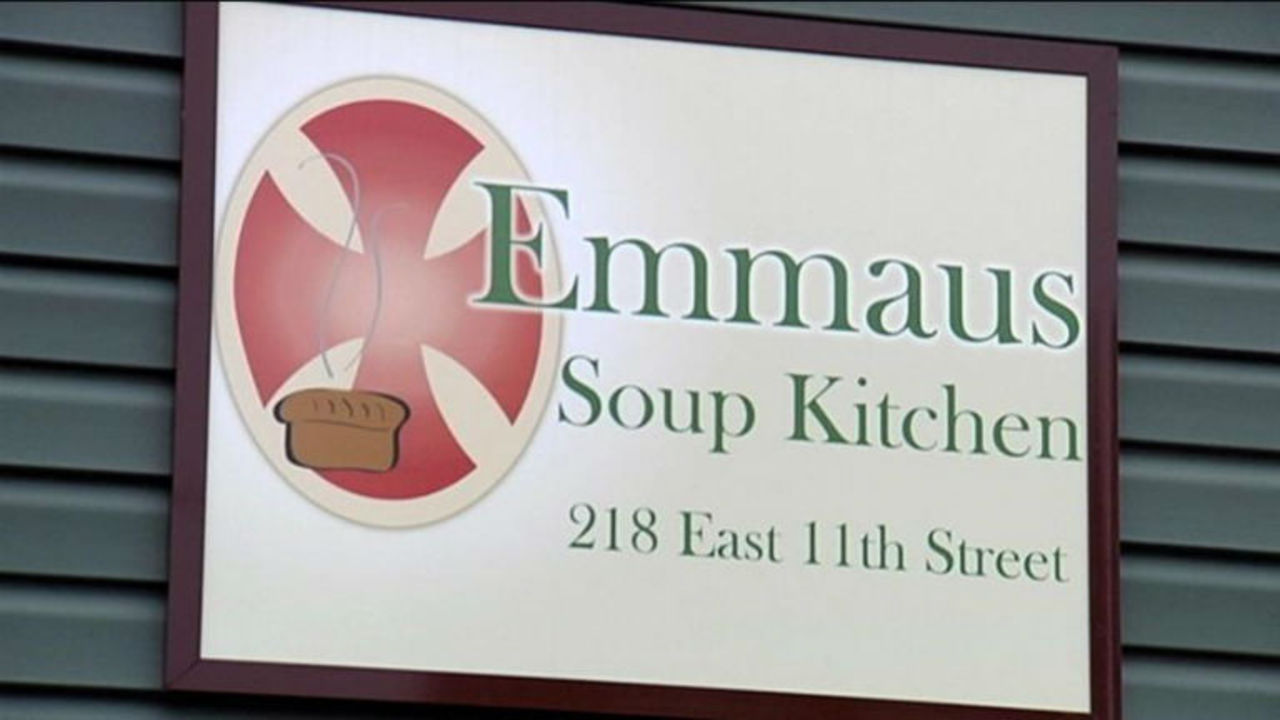 Emmaus Soup Kitchen expected to reopen today