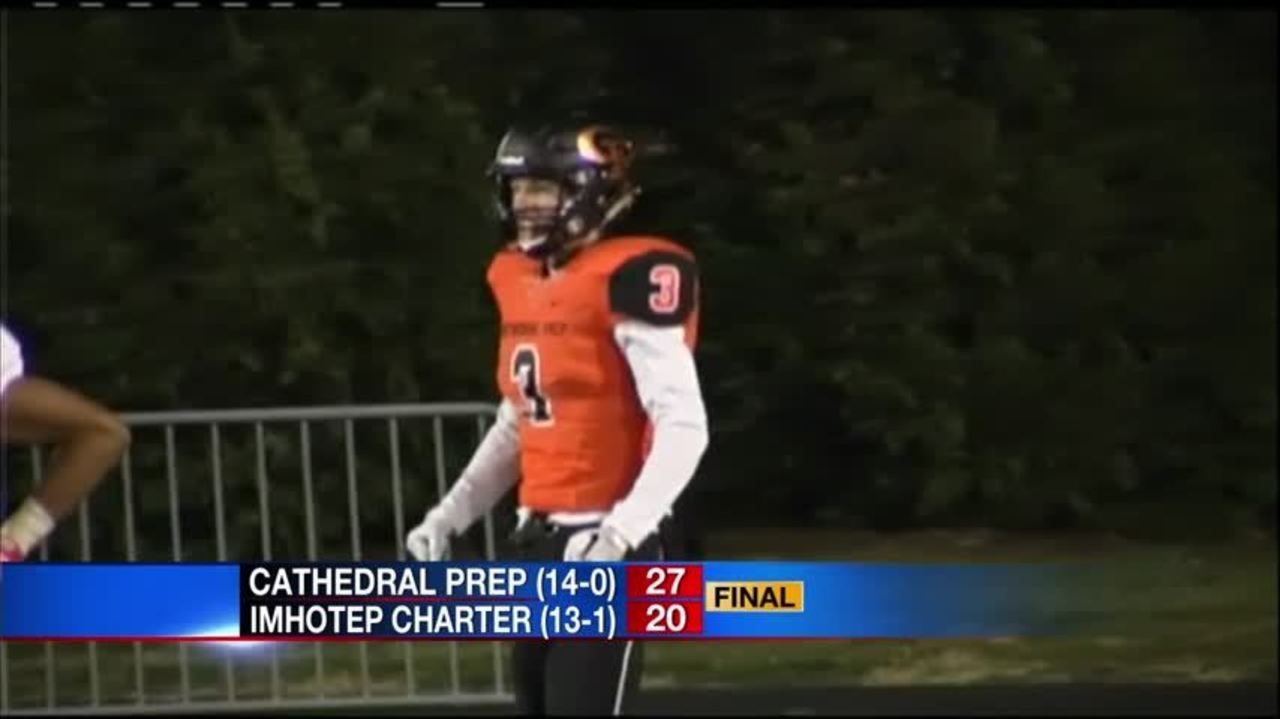 Cathedral Prep Wins State Football Championship
