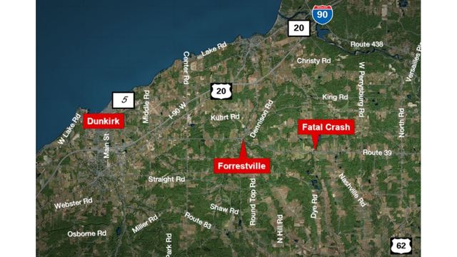Chautauqua County Man Dies In Motorcycle Accident