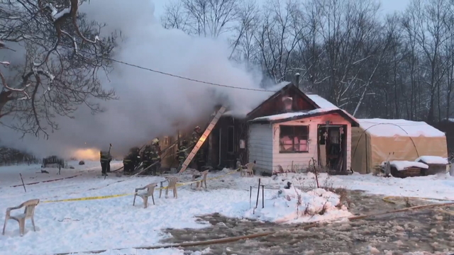 Crawford County Home is a Total Loss After Fire