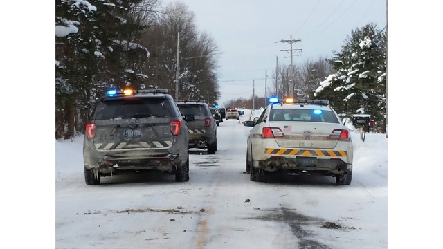 Man critically injured in gunfire exchange with police
