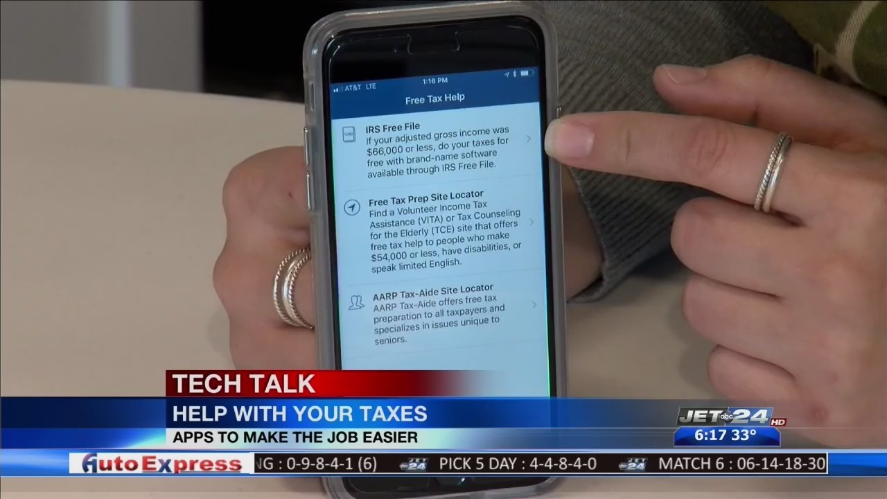 Tech Talk - Apps to help with taxes