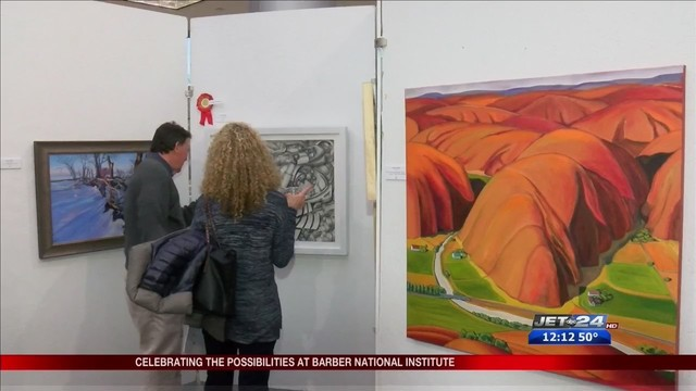Barber National Institute holds annual art show
