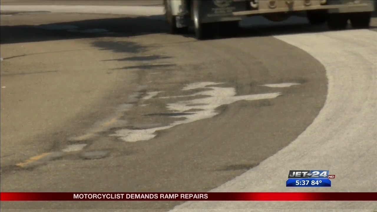 Motorcyclist Demands Repairs For I 79 Ramps
