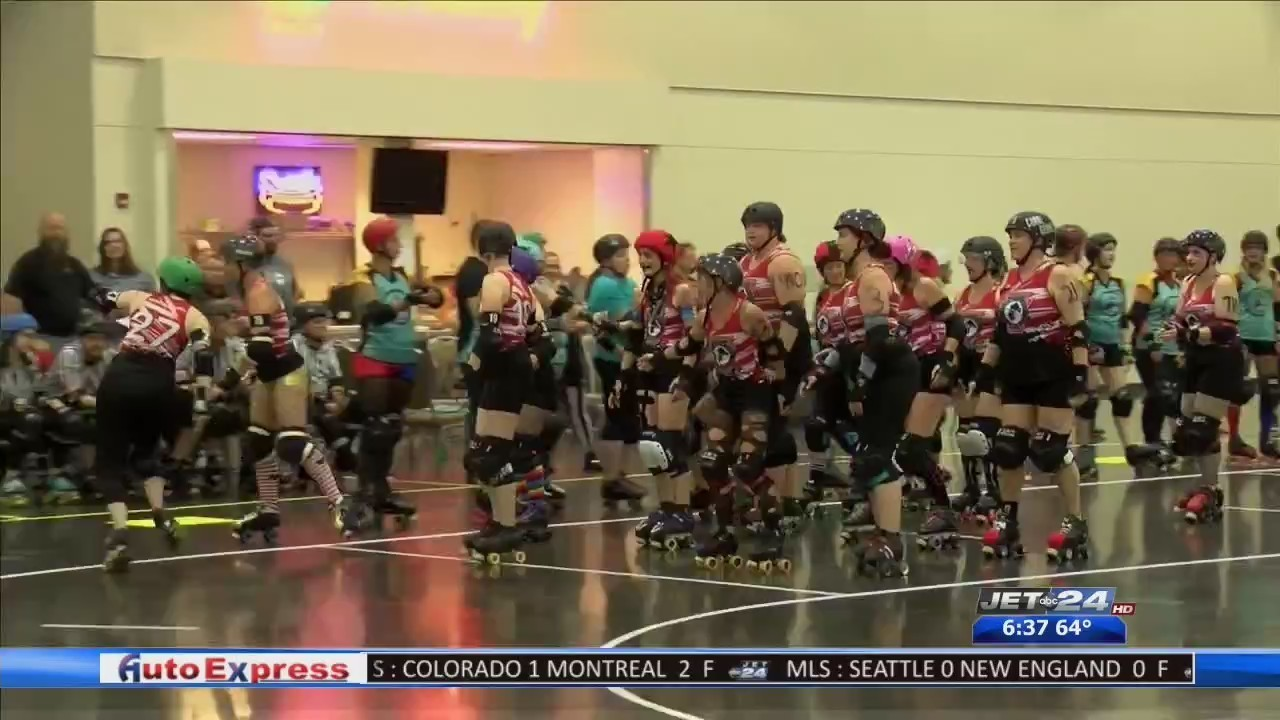 Erie Roller Girls take to the rink to kick-off their season