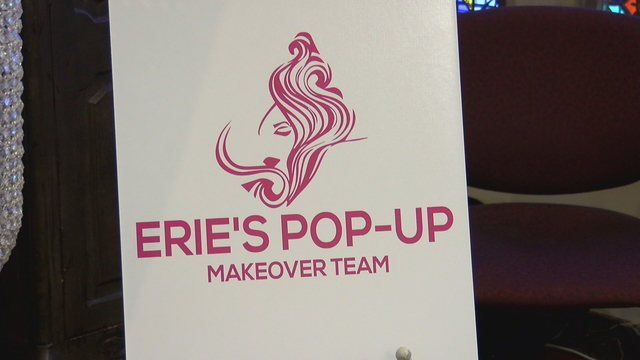 The Erie Pop Up Makeover Team made its debut at the Mercyhurst Center for Women
