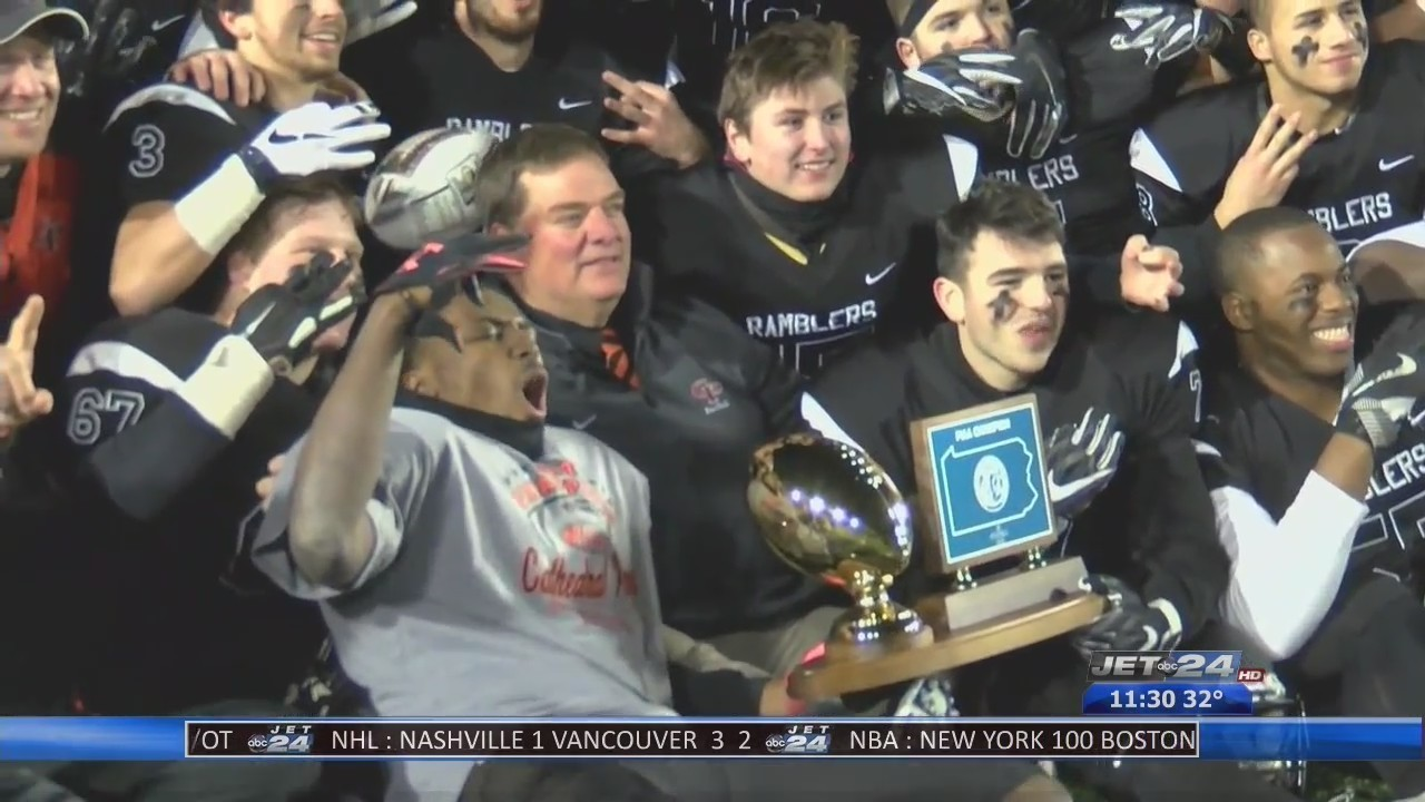 Cathedral Prep Wins Third Straight State Championship In Football