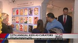 The 15th annual Kids as Curators event has been helping children with confidence