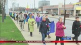 Around 100 people attend 39th Annual Silent Pilgrimage for Peace