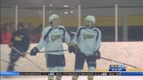Otters Navy vs White Orientation Camp Scrimmage